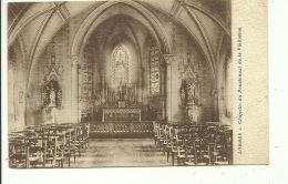 Lobbes Chapelle Du Pensionnat De La Visitation ( Carte Pliée - Voir Dos  !!! ) - Lobbes
