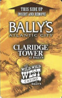 Bally's Casino Atlantic City, NJ - Hotel Keycards