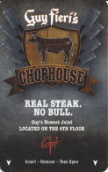 Bally's Casino Atlantic City, NJ - Guy Fieri's Chophouse With C-4146131 - Hotel Keycards
