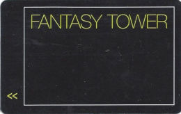 Fantasy Tower Room Key - Unknown Casino - Hotel Keycards