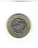 GRECE  2010  / 1 Pièce De 1 Euro /  Circulée Bon Etat - Griechenland