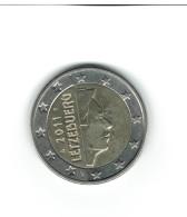LUXEMBOURG  2011 / 1 Pièce De 2 EUROS  /  De Circulation  Bon état / SCAN NON CONTRACTUEL 3 Ex. Bon état - Luxemburg