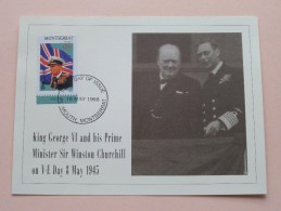 GEORGE VI - 18 May1998 First Day Of Issue / Plymouth Montserrat ( FDC - Zie Foto´s Voor Details ) - Montserrat