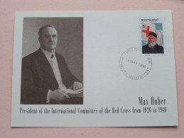 HENRI DUNANT - 18 May1998 First Day Of Issue / Plymouth Montserrat ( FDC - Zie Foto´s Voor Details ) - Montserrat