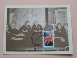 DWIGHT D. EISENHOWER - 18 May1998 First Day Of Issue / Plymouth Montserrat ( FDC - Zie Foto´s Voor Details ) - Montserrat