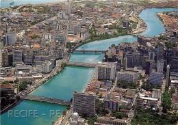 CPSM Brésil-Recife-Vista Aera Das Pontes      L2206 - Recife
