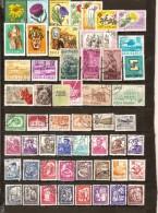 ROUMANIE - LOT DE TIMBRES TOUS DIFFÉRENTS - LOT 101 - 1948-.... Republics