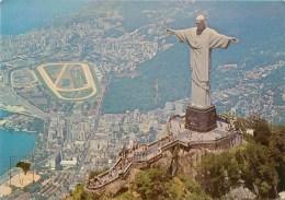 CPSM Brésil-Rio De Janeiro-Christo Redentor       L2206 - Rio De Janeiro