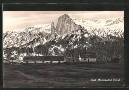 AK Kunkelpass, Gebäude Auf Der Passhöhe Und Sessagit - GR Graubünden