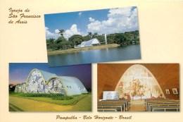 CPSM Brésil-Belo Horizonte-Pampulha-Igreja De Sao Francisco Des Assis      L2206 - Belo Horizonte