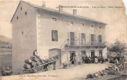 ¤¤  -  79   -  GOUTEYRON-GALLIEN   -  Hôtel Rosières   -  Vins En Gros  -  Attelage , Cheval   -  ¤¤ - France