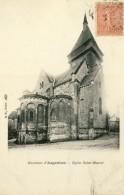 CPA - ENVIRONS D'ARGENTON-SUR-CREUSE - EGLISE SAINT MARCEL - Frankreich