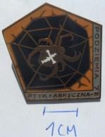 Podziemia 1972 - PTTK Fabryczna  PINS BADGES  Z - Marche