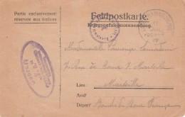 CP D´un Prisonnier Français Au Camp De HAMMELBURG Du 19.7.17 - Guerre De 1914-18