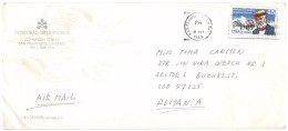 STORIA  POSTALE - USA - AMERICA - ANNO 1989 - USA AIR MAIL - SAN FRANCISCO - PER TOMA CARMEN - BUCAREST - ROMANIA - - America Centrale