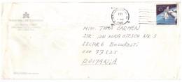 STORIA  POSTALE - USA - AMERICA - ANNO 1990 - USA AIR MAIL - SAN FRANCISCO - PER TOMA CARMEN - BUCAREST - ROMANIA - - America Centrale