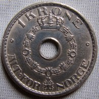 NORWAY 1951 - 1 KRONE - Norway
