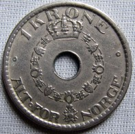 NORWAY 1940 - 1 KRONE - Norway