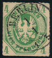1861, 4 Pfg. Kabinettstück Mit Stempel BERLIN - Prusse