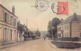 CPA 10 AIX EN OTHE ROUTE DU BOUCHOT 1904 Colorisée - France