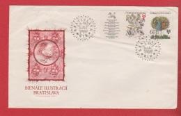 Tchécoslovaquie  --  Env  Bratislava 5/9/1975 - Cartas