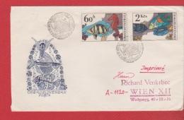 Tchécoslovaquie  --  Env  Bratislava 6/1/1975 - Cartas