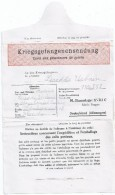 Corespondance Prisonniers De Guerre Français En Allemagne  15x10cm, Bon Etat ,  Voir Les Scanners - Guerre 1939-45