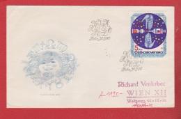 Tchécoslovaquie  --  Env 30/9/1975 - Cartas
