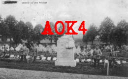 08 CHARLEVILLE MEZIERES Ardennes Denkmal Friedhof Cimetiere Allemand Monument Feldpost 1917 - Guerre 1914-18