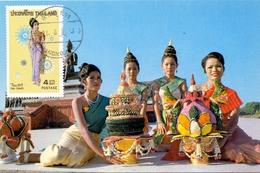 THAILAND MAXIMUN CARD   (SET160027) - Tailandia