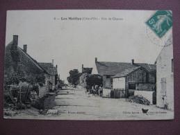 CPA 21 LES MAILLYS Rue De Charme 1916 ANIMEE AVEC ATTELAGE DE PAILLE Canton AUXONNE - Autres Communes
