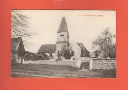 * CPA..dépt 78..SAINT ILLIERS La VILLE  :  L´ Eglise  : Voir Les 2 Scans - Frankrijk