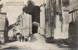 27 BEAUMONT-LE-ROGER  Entrée Des Ruines Du Prieué - Beaumont-le-Roger