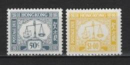 Hong Kong (1986) Yv. Tx. 22/23  /  Tax - Taxe - Tasa - 1997-... Région Administrative Chinoise