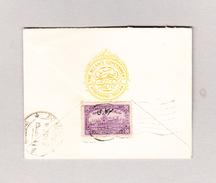 Indien Brief Des NIZAM'S Governement Hyderabad Deccan Nach Bombay - Hyderabad