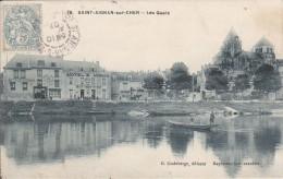 CARTE POSTALE     SAINT AIGNAN Sur CHER 41   Les Quais - Saint Aignan
