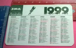 CALENDARIETTO 1999 INA ASSITALIA - Calendari