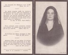 Image Religieuse En Hommage à La Reine Astrid De Belgique - Images Religieuses