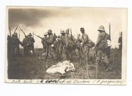 Africa - Zanzur -Carte Photo- Arabe Tombé Aux Combat De ZANZUR  1912 - Libye