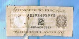 Italia-  Contenitore Vuoto Di Tabacco CAMEL Fine Quality Blue Con Bollo Monopolio Fiscale AS 392495973 Tabacchi Lavor - Contenitori Di Tabacco (vuoti)