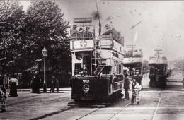 Tram Photo London Metropolitan Electric Tramways Tramcar Car 72 Middlesex - Trains