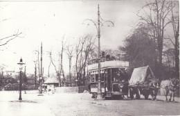Tram Photo Salford Corporation Tramways Tramcar Car 3 Kersal Bar 1902 - Trains