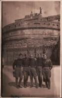 FOTO DI GRUPPO APPARTENENTI ALLA M.V.S.N. MILIZIA VOLONTARIA SICUREZZA NAZIONALE A ROMA DUX - 1939-45