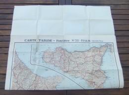 Carte Routière Taride - Échelle : 1 / 600 000 ème - N° 32 - Italie - Section Sud - Cartes Routières