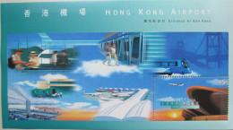 """Hong Kong 1998 """"Hong Kong Airport"""" Mi Block MNH - 1997-... Chinese Admnistrative Region"""