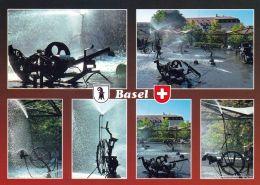 1 AK Schweiz * Basel - Der Brunnen Von Tinguely Am Stadttheater * - BS Bâle-Ville