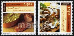 Luxembourg - 2005 - Europa CEPT - Gastronomy - Mint Stamp Set - Ungebraucht