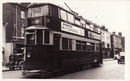 Tram Photo London Transport Feltham Tramcar Car 2135 Tramway Route 7 - Trains
