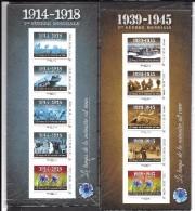 France: Collectors 1914/1918 & 1939/1945 Sous Faciale - Collectors