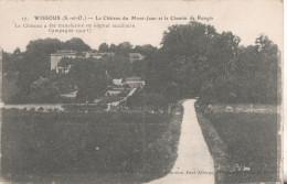 91 Wissous Le Chateau De Mont-jean - France